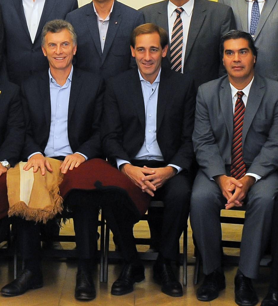 Macri con intendentes(grupal)