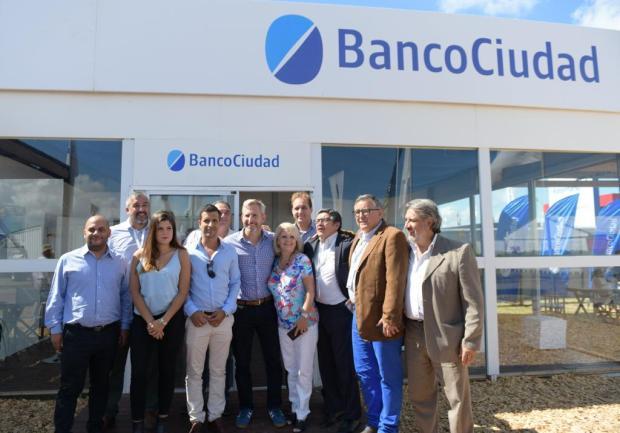 Frigerio con Banco Ciudad en ExpoAgro